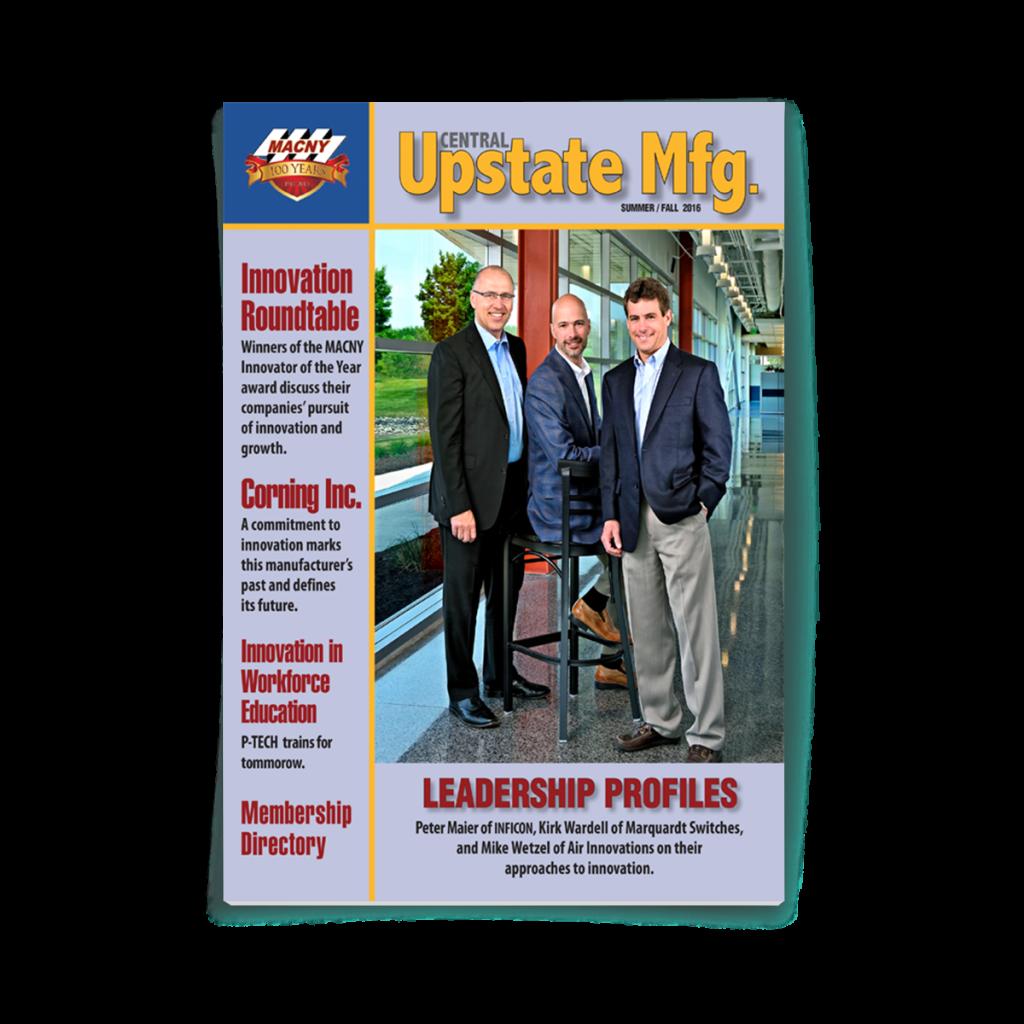 Print Magazine | Central Upstate Mfg. | MACNY