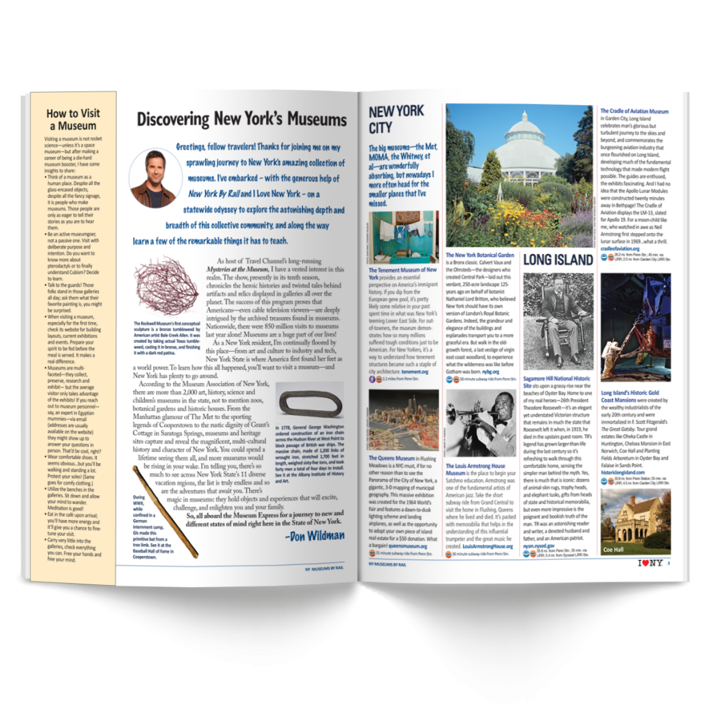 Article   New York By Rail   I Love New York