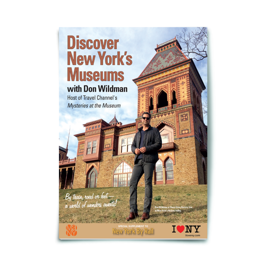Print Magazine | New York By Rail | I Love New York
