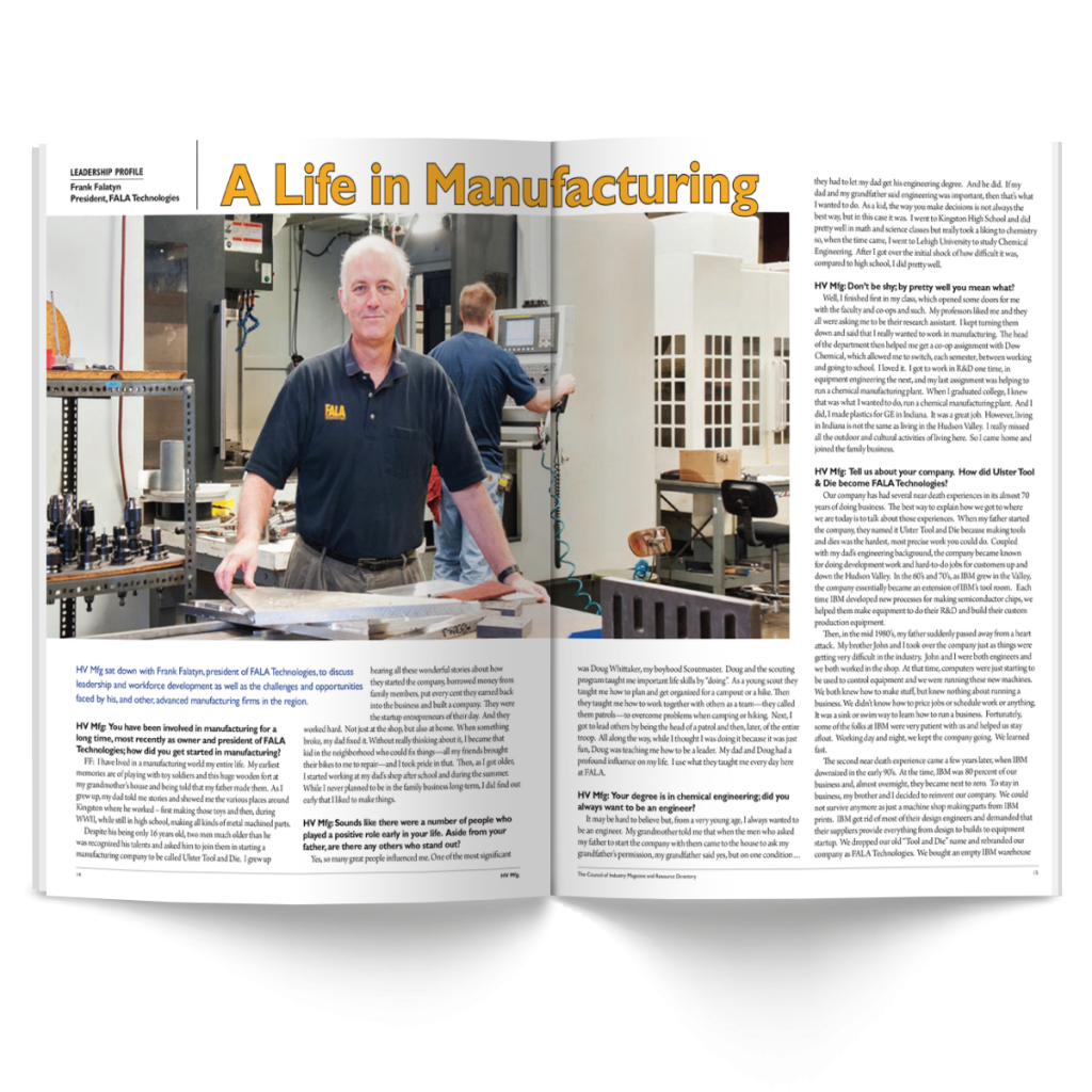Article | HV Mfg. | Council of Industry