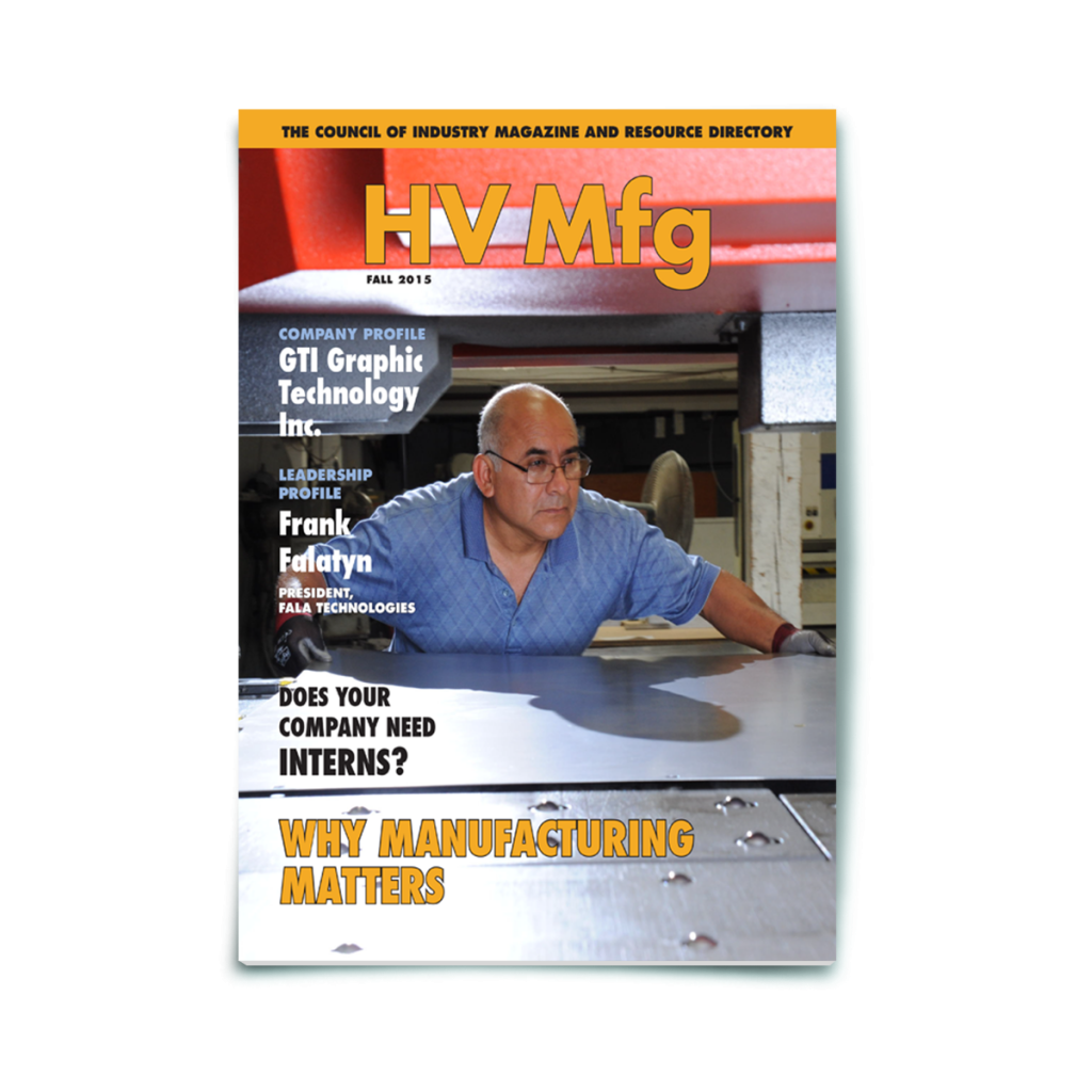 Print Magazine | HV Mfg. | Council of Industry