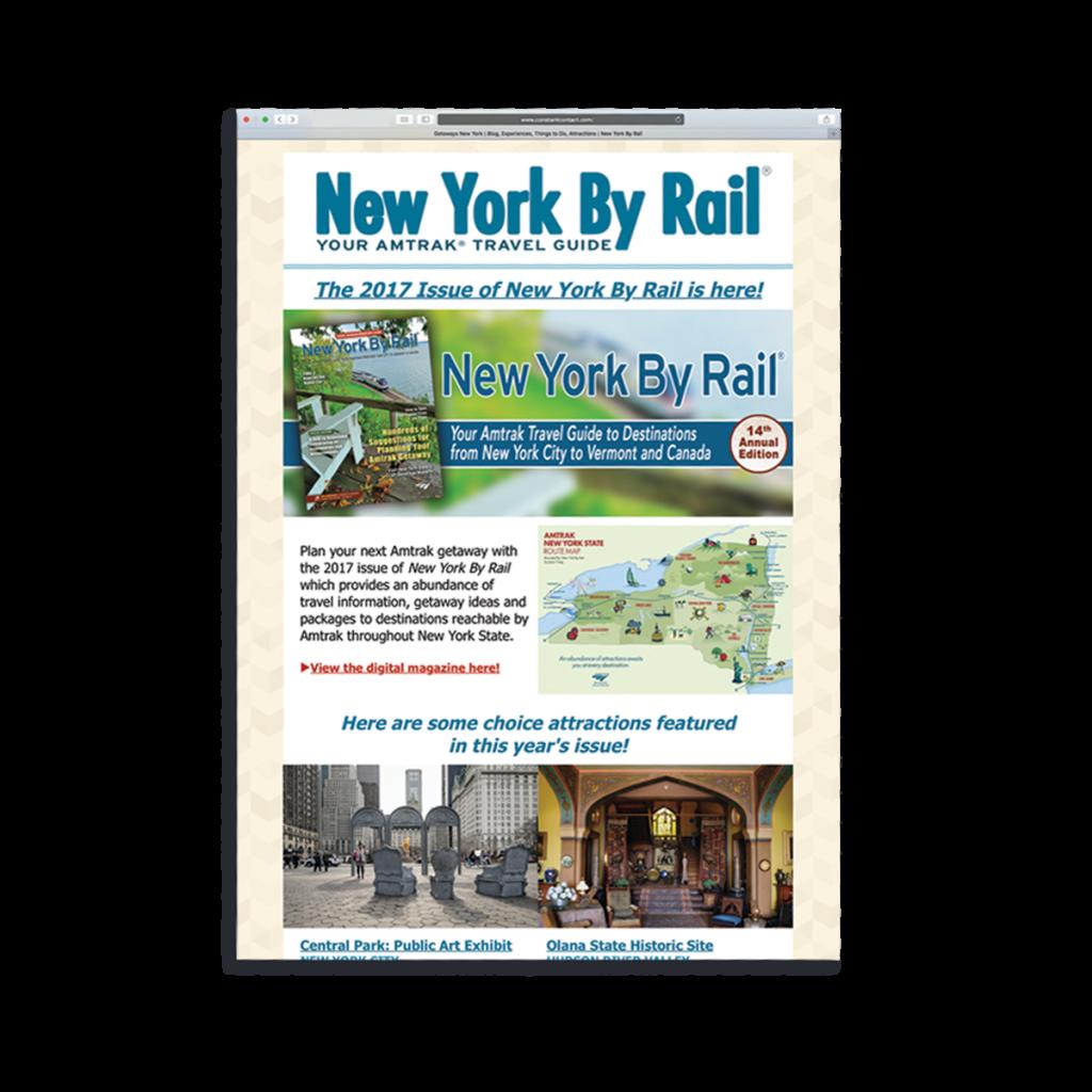 E-Newsletter | New York By Rail