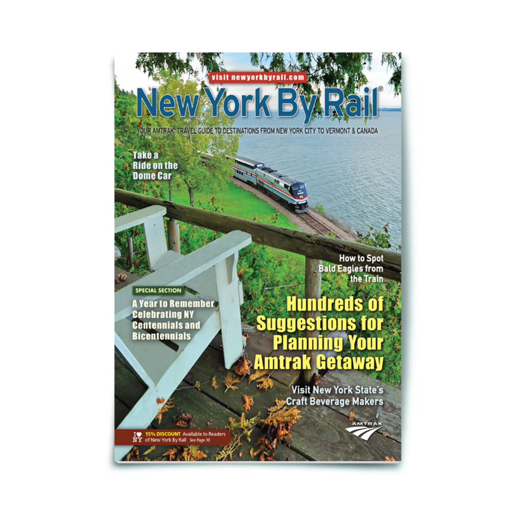 Print Magazine | New York By Rail | Amtrak
