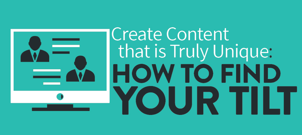 Best practices for content tilting.