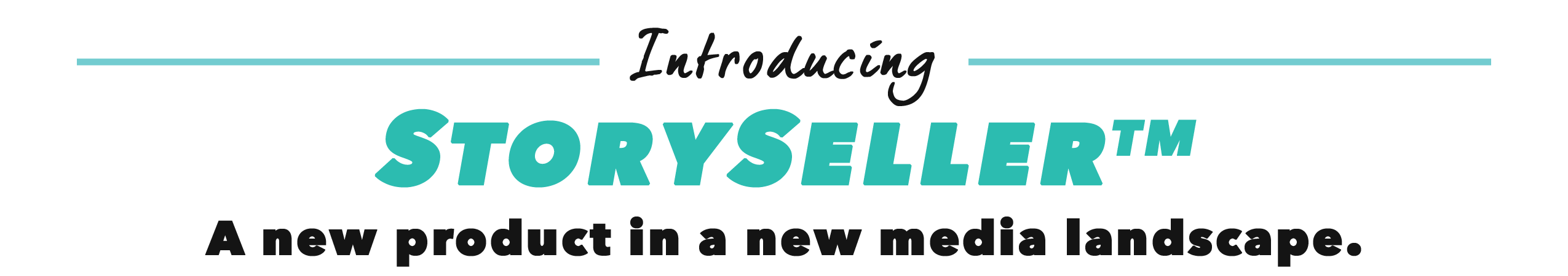 Introducing StorySeller from Content Studio.