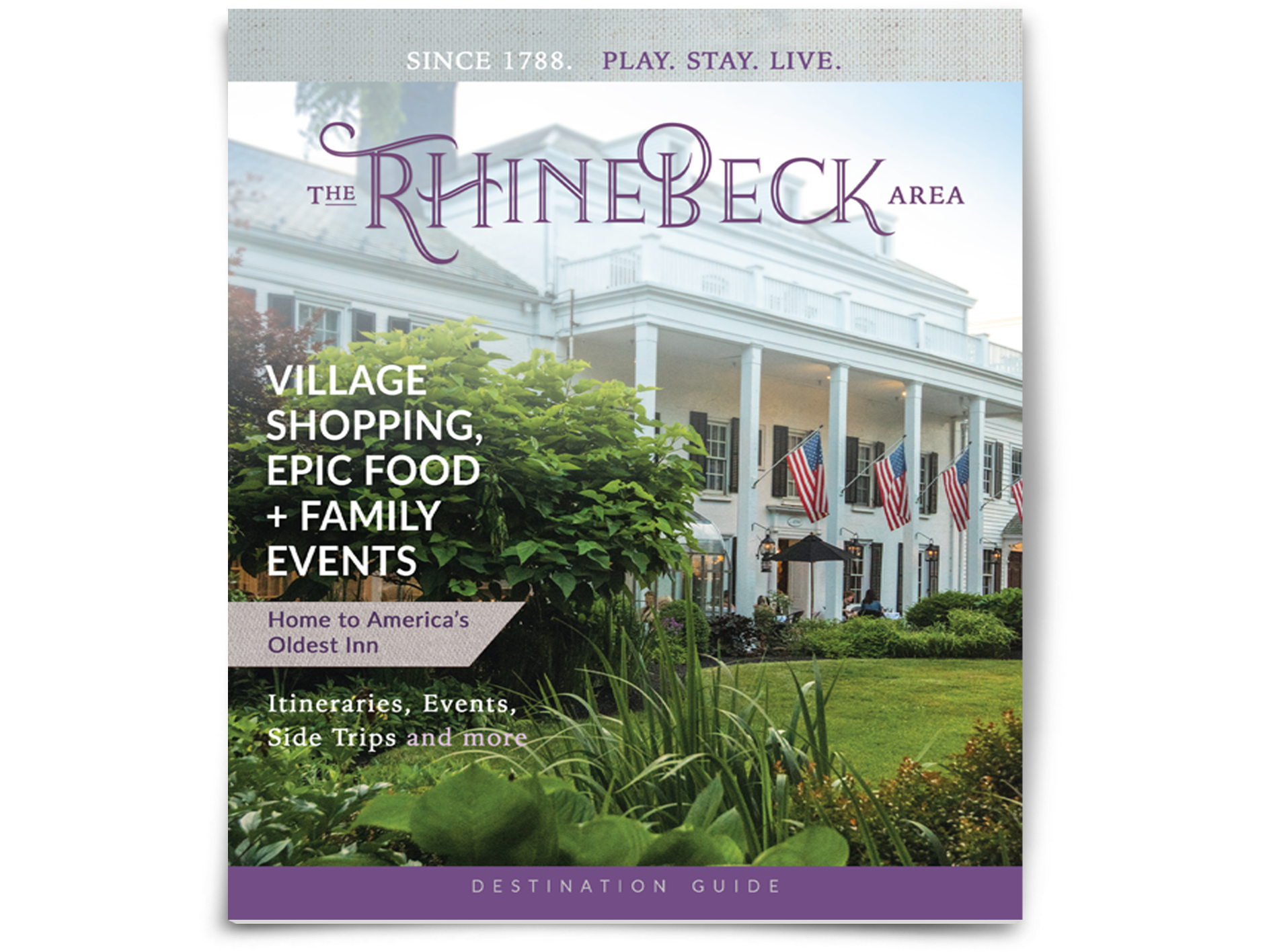 2019-2020 Rhinebeck Area Destination Guide - Village, Shopping, Epic Food, & Family Events